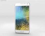 3D model of Samsung Galaxy E5 White