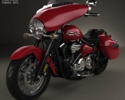 3D model of Yamaha Stratoliner Deluxe 2013