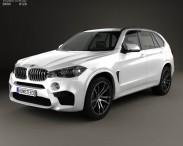 3D model of BMW X5 M (F15) 2014