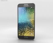 3D model of Samsung Galaxy E5 Black
