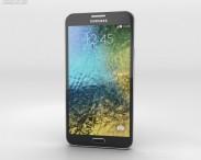 3D model of Samsung Galaxy E7 Black
