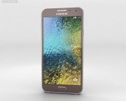 3D model of Samsung Galaxy E5 Brown