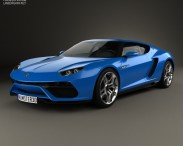 3D model of Lamborghini Asterion LPI 910-4 2014