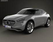 3D model of Mercedes-Benz Vision G-Code 2014