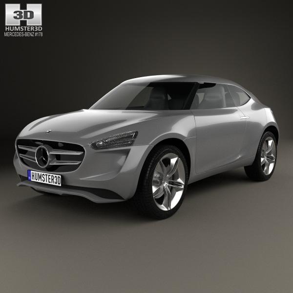 mercedes benz vision g code 2014 3d model humster3d