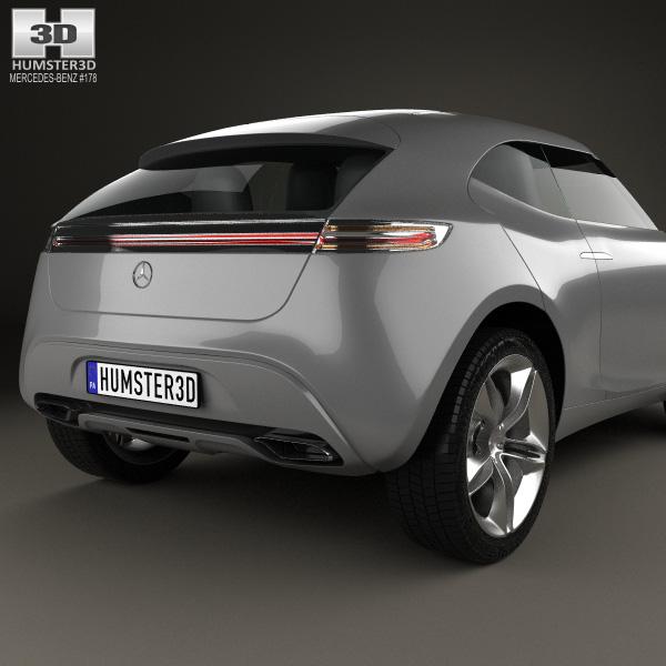 Mercedes benz vision g code 2014 3d model humster3d for Mercedes benz bluetooth code