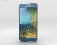 3D model of Samsung Galaxy E5 Blue