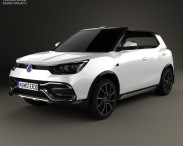 3D model of SsangYong XIV Air 2014