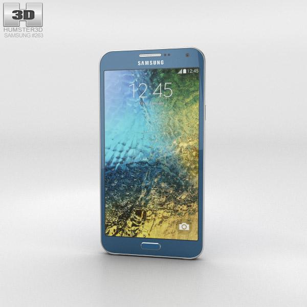 3D model of Samsung Galaxy E7 Blue