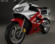 3D model of Honda CBR929RR 2000