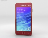3D model of Samsung Z1 Wine Red