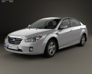 3D model of FAW Besturn B50 2011