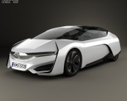 3D model of Honda FCEV 2013
