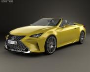 3D model of Lexus LF-C2 2014