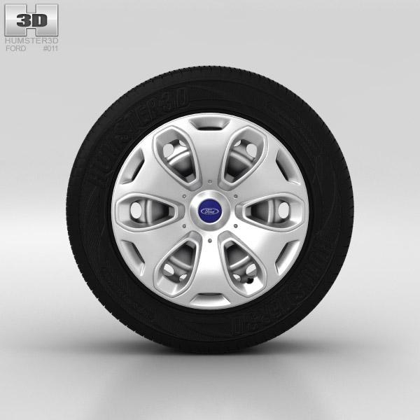 3D model of Ford Kuga Wheel 17 inch 001