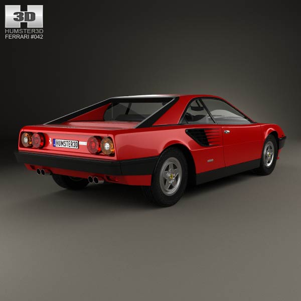 ferrari mondial 8 1980 3d model humster3d. Black Bedroom Furniture Sets. Home Design Ideas