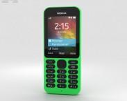 3D model of Nokia 215 Green