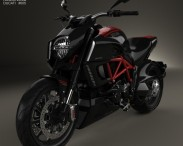 3D model of Ducati Diavel 2011