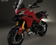 3D model of Ducati Multistrada 1200 2010