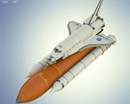 3D model of Space Shuttle Atlantis