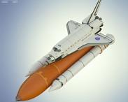 3D model of Space Shuttle Atlantis