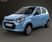 3D model of Suzuki Maruti Alto 800 2014