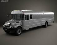 3D model of International Durastar Correction Bus 2007