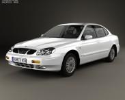 3D model of Daewoo Leganza (V100) 1997