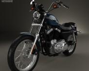 3D model of Harley-Davidson XLH 1200 Sportster 2003