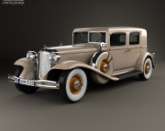 3D model of Chrysler Imperial Close Coupled Sedan 1931