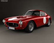 3D model of Ferrari 250 GT SWB Berlinetta Competizione 1960