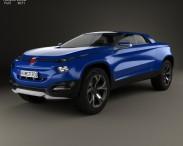 3D model of Fiat FCC4 2014