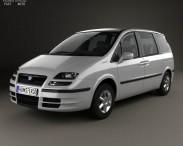 3D model of Fiat Ulysse 2002