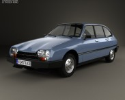 3D model of Citroen GSA 1979