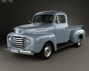 3D model of Ford F-1 Pickup 1948