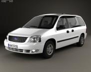 3D model of Ford Freestar 2003