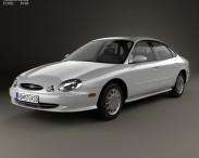 3D model of Ford Taurus 1996
