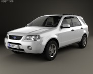 3D model of Ford Territory (SY) 2005