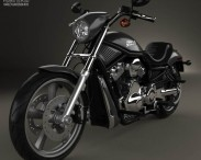3D model of Harley-Davidson VRSCD Night Rod 2006