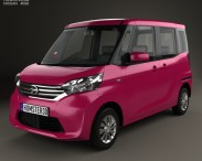 3D model of Nissan Dayz Roox 2013