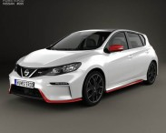 3D model of Nissan Pulsar (NB17) Nismo S 2014