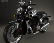3D model of Yamaha VMax 2009