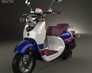 3D model of Yamaha Vino Classic 2013