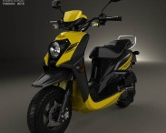 3D model of Yamaha Zuma 50 FX 2013
