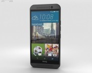 3D model of HTC One (M9) Gunmetal Gray