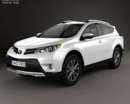 3D model of Toyota RAV4 (XA40) EU-spec 2013