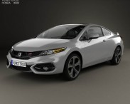 3D model of Honda Civic coupe Si 2014
