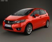 3D model of Honda Fit US-spec 2014
