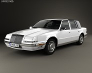 3D model of Chrysler Imperial 1989