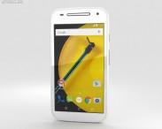 3D model of Motorola Moto E (2nd Gen.) White
